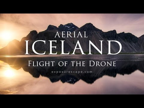 Aerial ICELAND: Flight of the Drone