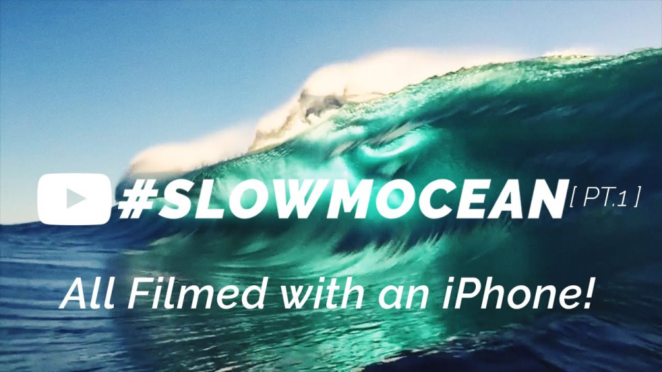 iPhone SLOW MO in the ocean!