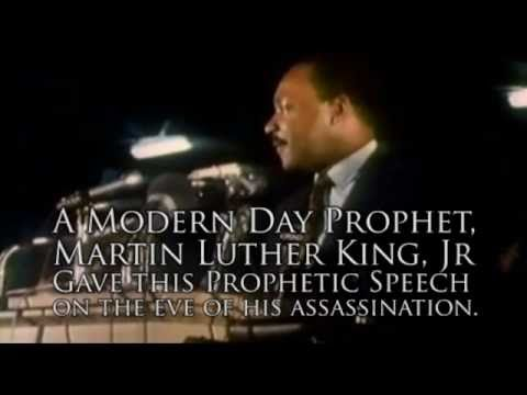 """Martin Luther King Jr.'s Prophetic Last Speech: """"I've Been to the Mountaintop"""""""