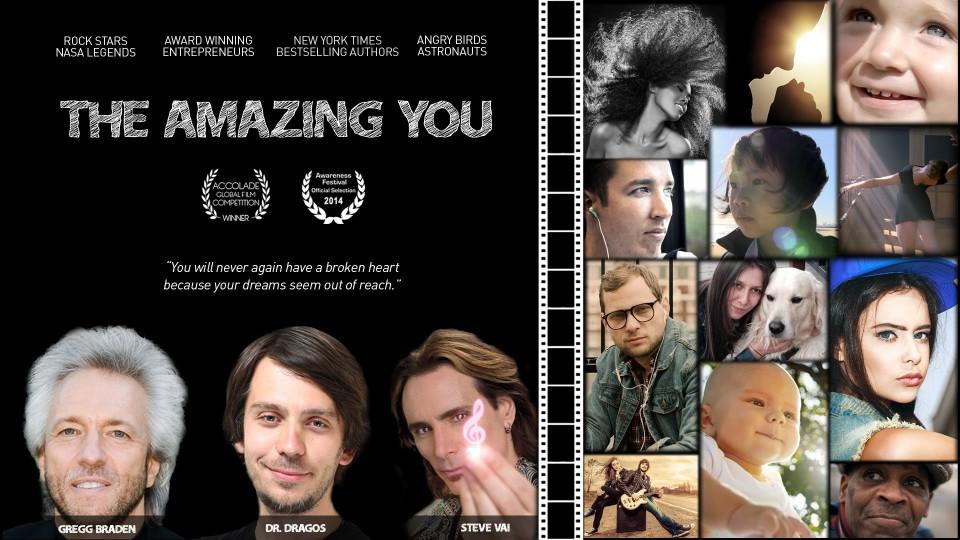 THE AMAZING YOU Official Trailer – Dr. Dragos, Gregg Braden, Steve Vai