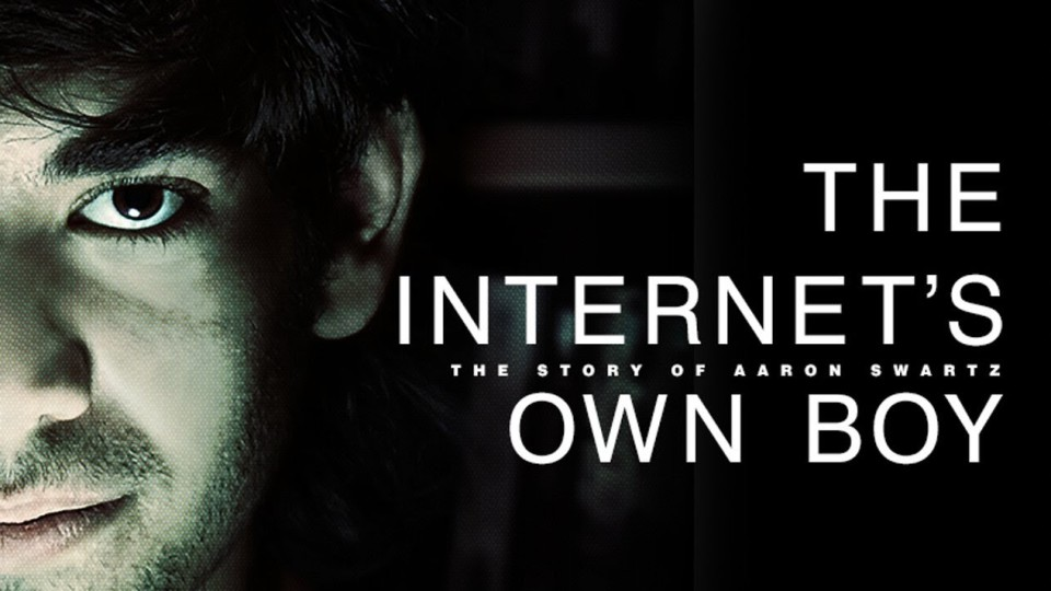 The Internet's Own Boy: The Story of Aaron Swartz (CC available)