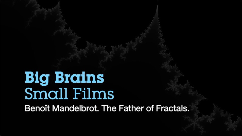 Big Brains. Small Films. Benoît Mandelbrot, The Father of Fractals | IBM
