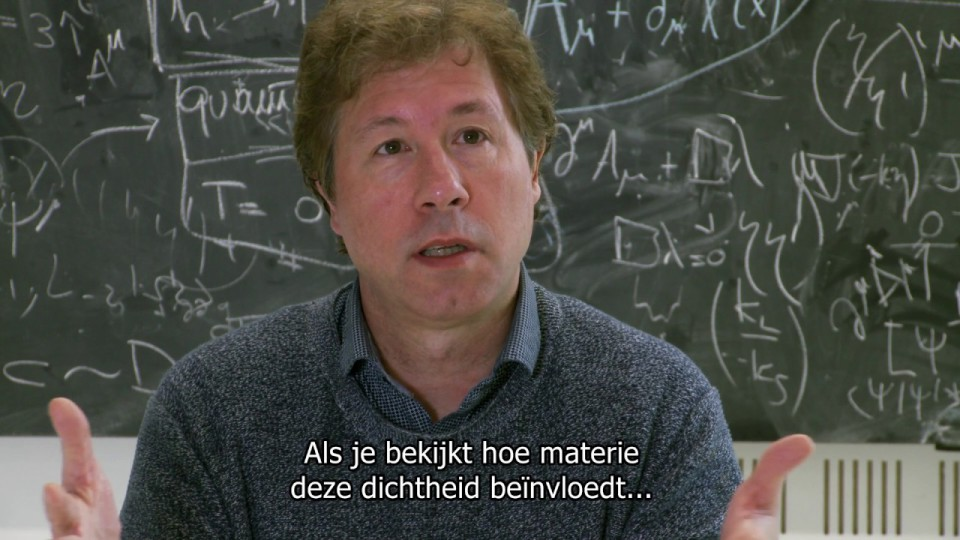 Faculty of Science – Erik Verlinde explains his description of gravity
