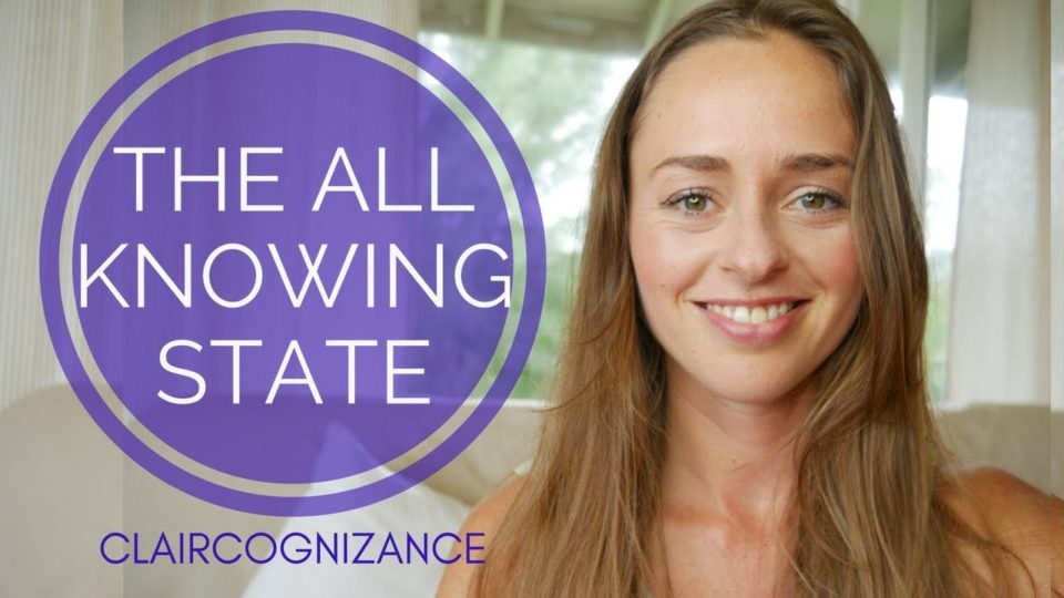 THE ALL KNOWING STATE, CLAIRCOGNIZANCE & INTUITION | BRIDGET NIELSEN